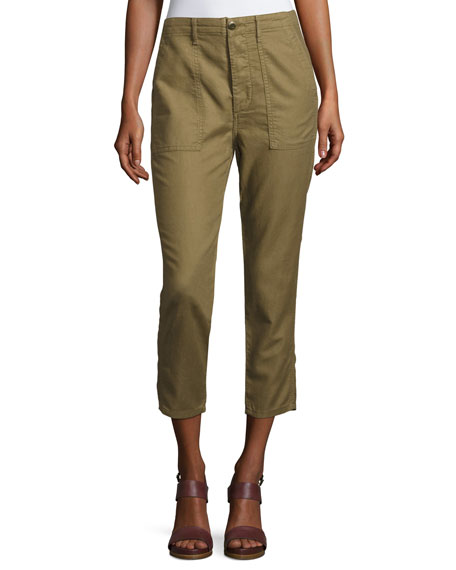 The Slouch Army Cargo Pants, Olive