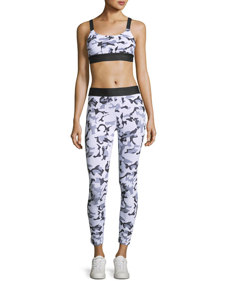 Knockout Cropped Athletic Leggings