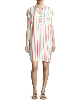 Abito April Santa Cruz Striped Shirtdress