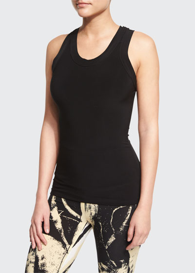 Racer Sleeveless Stretch Sport Tee