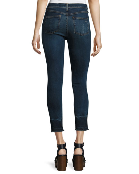 10 Inch Capri Jeans with Released Hem, Stanwix