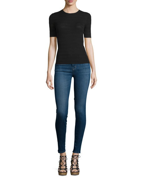 Maria High-Waist Skinny Jeans, Activate