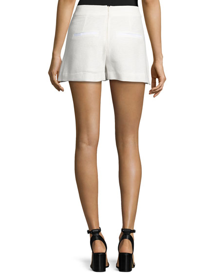 Blair Jacquard Shorts, Off White