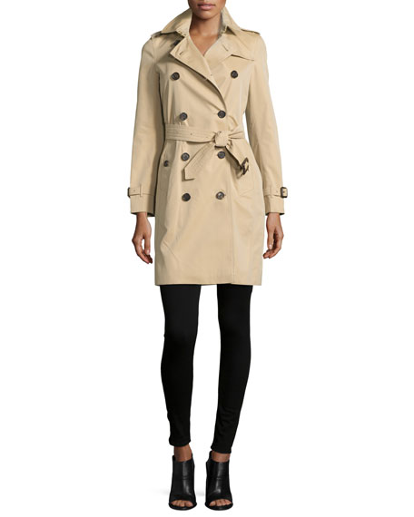 Burberry The Kensington - Long Heritage Trench Coat, Honey a9f83738d29