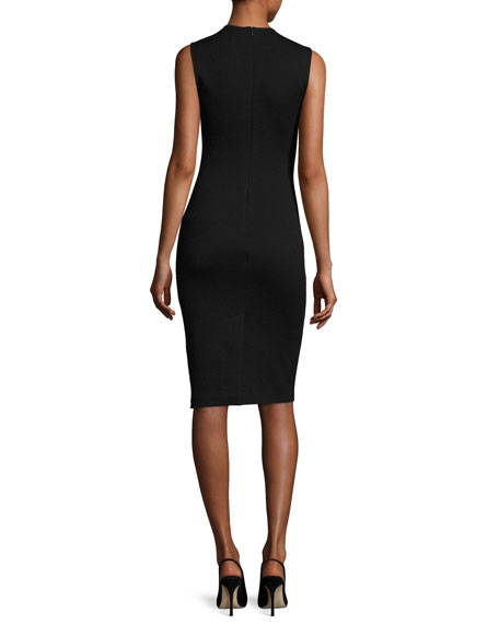 Eano B Sleeveless Cocktail Sheath Dress, Black