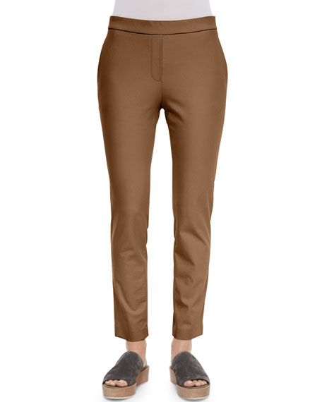 Thaniel Cropped Slim Twill Pants