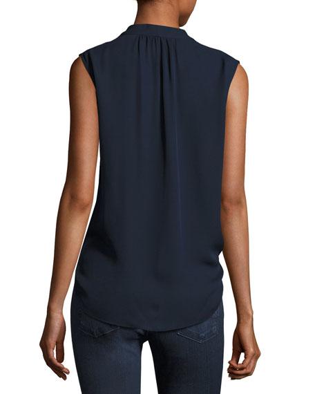 Nia Sleeveless Silk Blouse