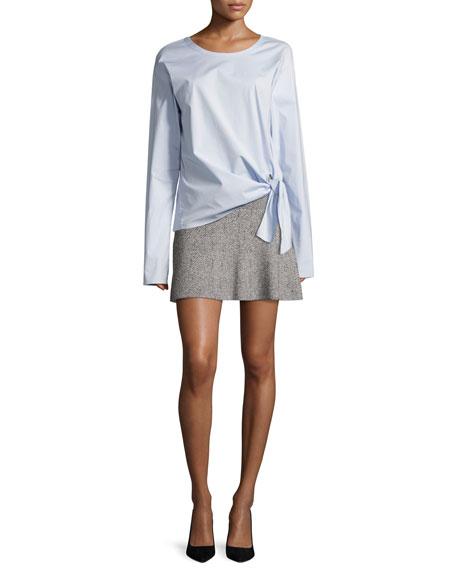 Gida KM Prosecco Knit Miniskirt, Multicolor