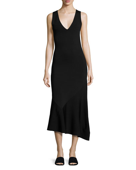 Theory Sleeveless Midi Dress Buy Cheap Clearance Store New And Fashion Order Cheap Price Shopping hYDVcV