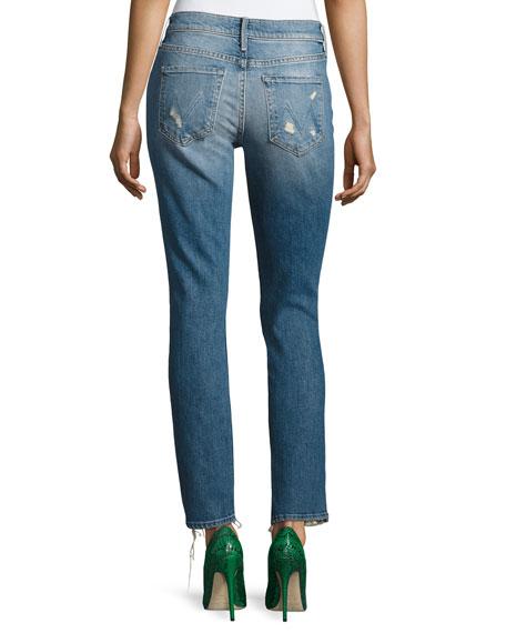 Flirt Fray Slim Jeans, Cold Feet