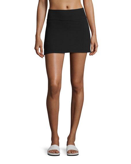 x kate spade new york side-slit high-rise performance skirt