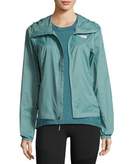 Cyclone 2 Hooded Track Jacket, Green