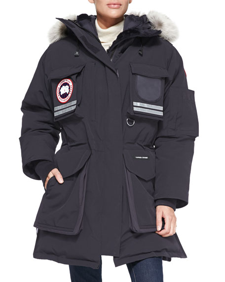 Canada Goose Snow Mantra Fur-Hood Coat