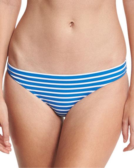 Regatta Hipster Swim Bikini Bottom, Blue/White