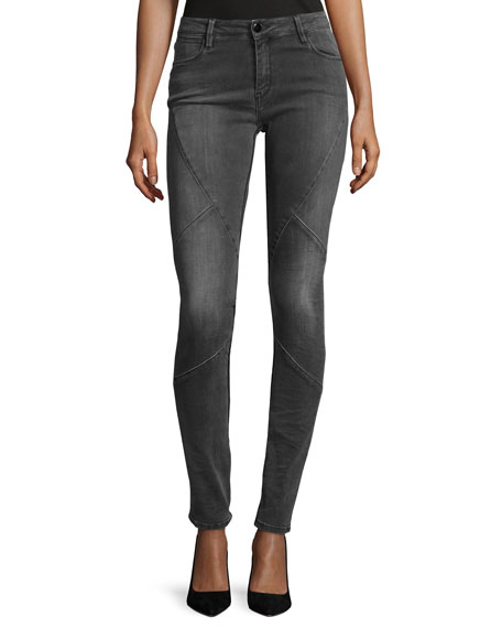 Brockenbow Puzzle Mid-Rise Skinny Jeans, Intemporel