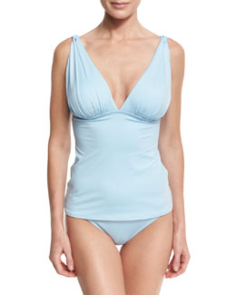 Classic Hipster Swim Bottom, Powder Blue