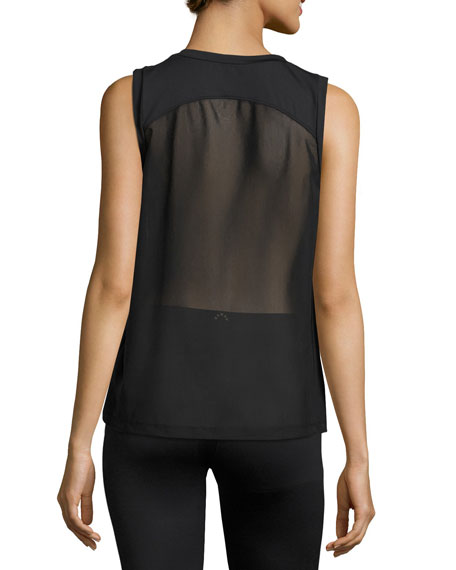 Rudy Technical Vest Muscle Tank, Black