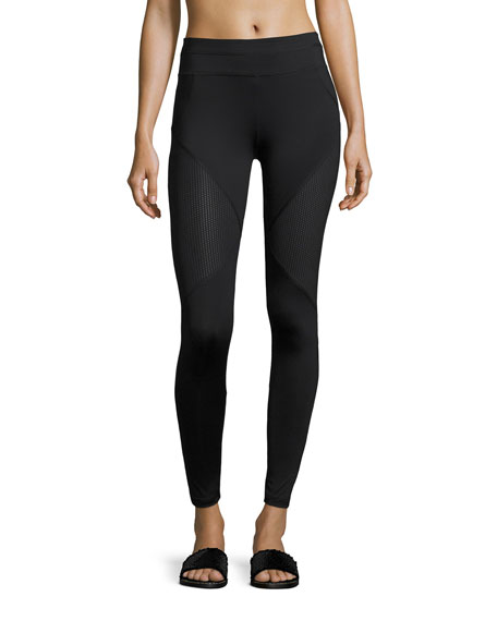Power Bicknell Full-Length Leggings, Black