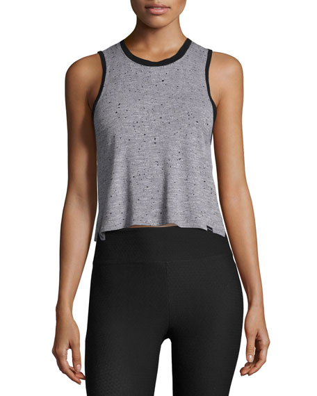 Koral Activewear Crescent Sleeveless Crop Top