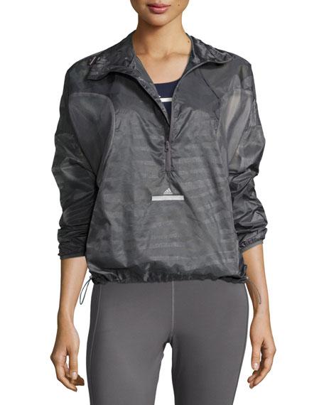 adidas by Stella McCartney Cycling Adizero Pullover Jacket,