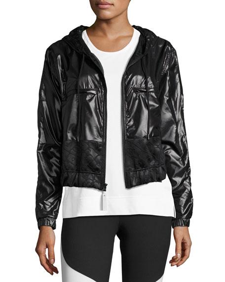 Climastorm® Embossed Run Jacket, Black