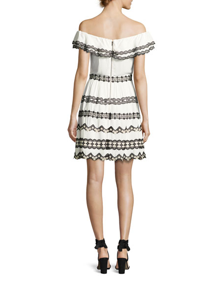 Rozzi Off-the-Shoulder Dress, Multi
