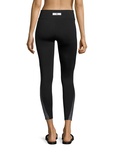 Tread Full-Length Performance Leggings, Black Pattern