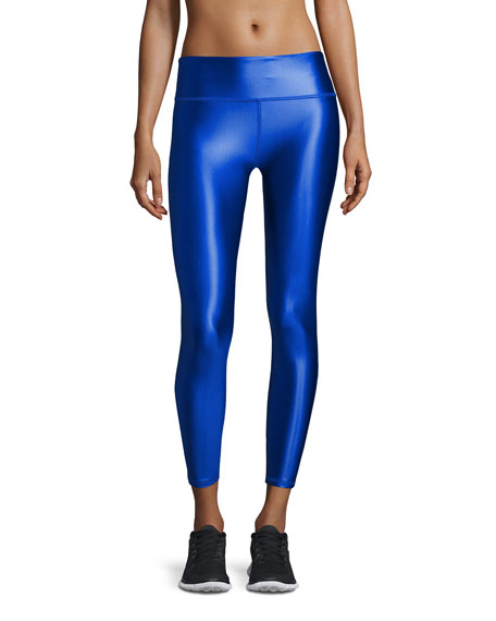 Lanston Brady Luster Performance Leggings, Cobalt
