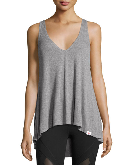 Vimmia Serenity Performance Tank Top, Light Gray
