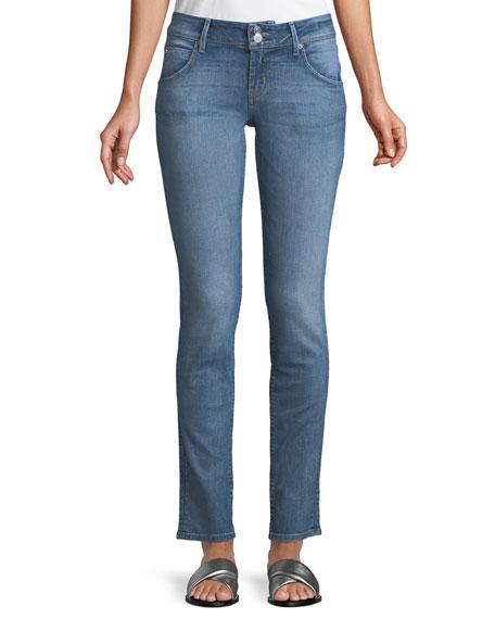 Hudson Collin Mid-Rise Skinny Jeans, Indigo