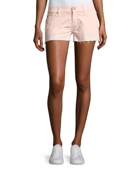 Kenzie Cutoff Jean Shorts, Pink