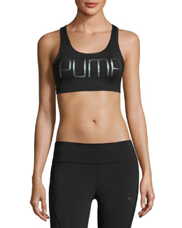 PWRShape Forever High-Impact Sports Bra, Black