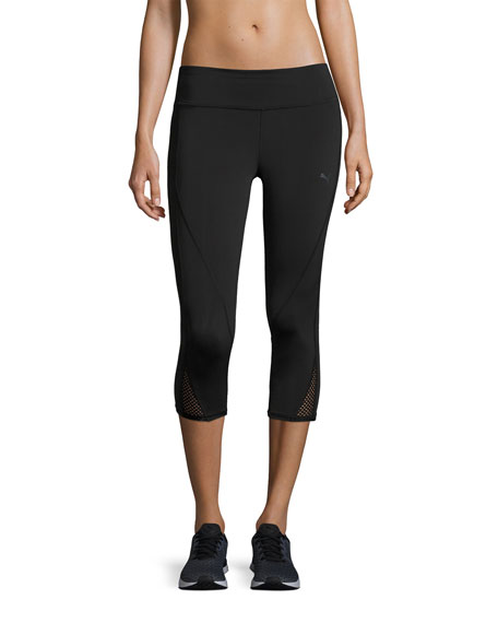 Puma Explosive 3/4 Performance Tights, Black