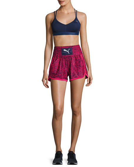 Culture Surf Boxing Athletic Shorts, Blue/Pink