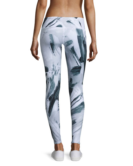 Airbrush Printed Sport Leggings
