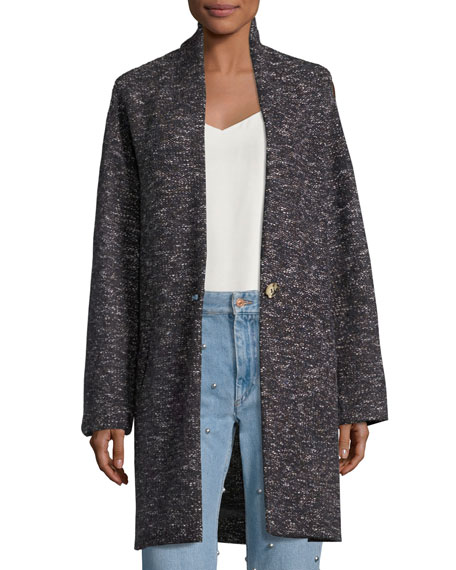 Etoile Isabel Marant Osbert Oversized Single-Button Coat