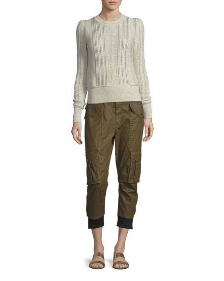 Dexter Coated Cargo Pants