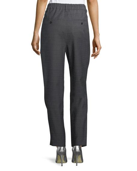 Nimura Cropped Wool Trousers