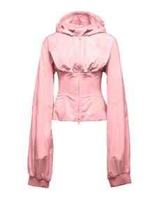 fenty pumarihanna windresistant corset jacket pink