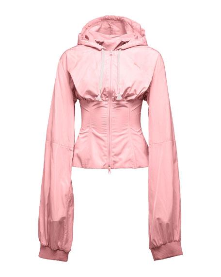 Wind-Resistant Corset Jacket, Pink