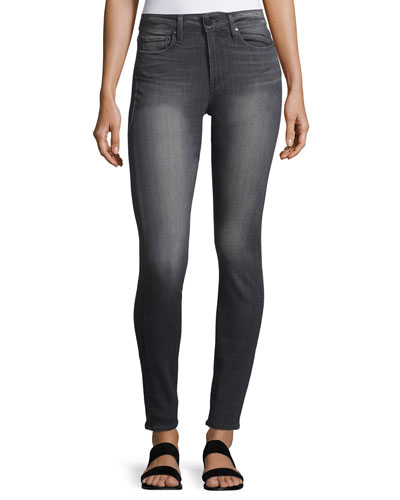 Hoxton Ultra-Skinny High-Waist Jeans, London Gray