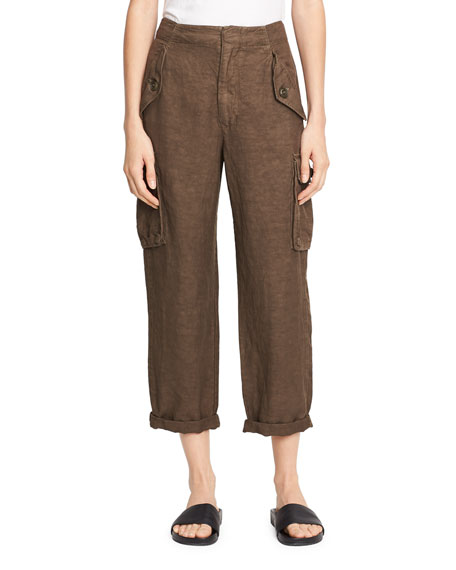 Straight-Leg Utility Pant