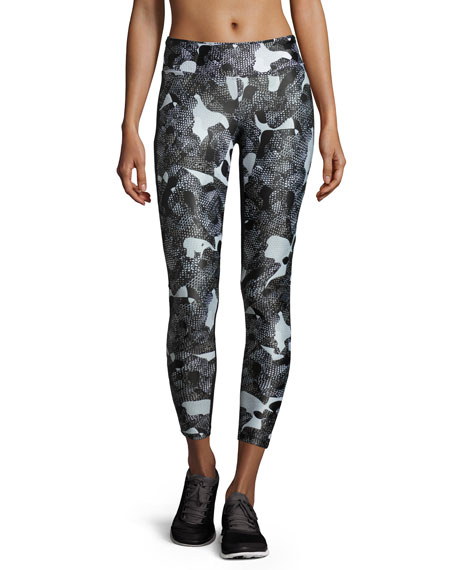 Emulate Performance Leggings, Snake Camo/Black