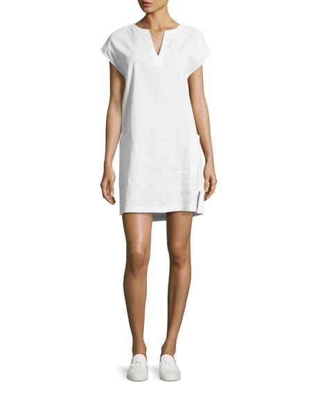 Theory Saturnina Crunch Wash Shift Dress