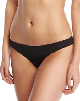 Lily Stretch Solid Swim Bottom, Black