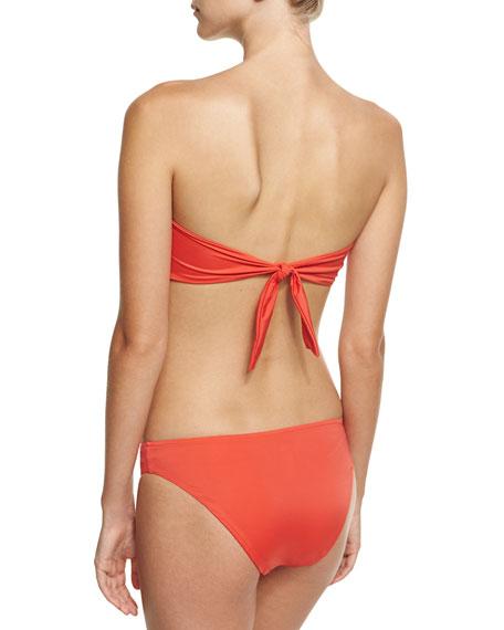Epure Naturelle Classic Swim Bikini Bottom, Orange