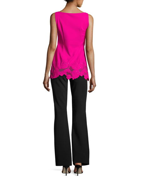 Desiree Sleeveless Jersey Rose Tunic