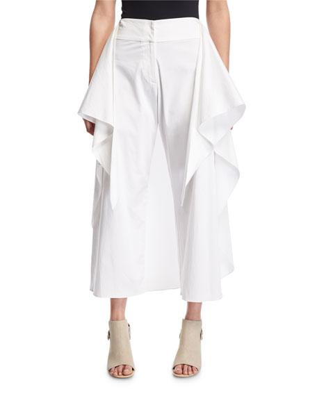 Alexis Sullivan Tie-Front Wide Leg Pants, White