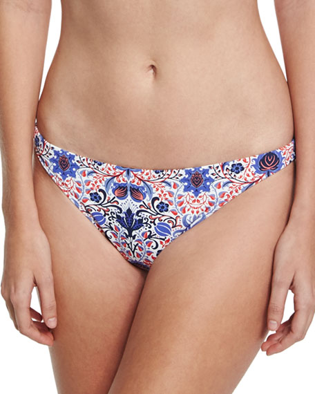 Classic Hipster Swim Bottom, Multiprint