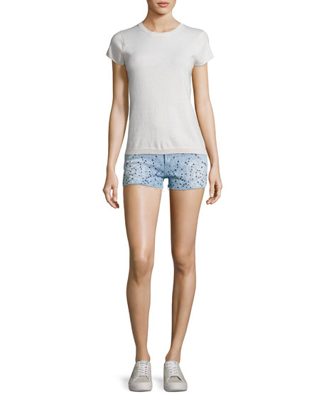 Kenzie Cutoff Shorts, Indigo